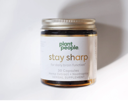 Plant People Stay Sharp Capsules