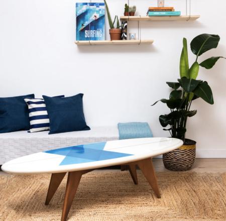 Salty Designs Surfboard Table