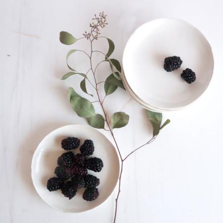Celina Mancurti The Imperfect Plate - Antique White