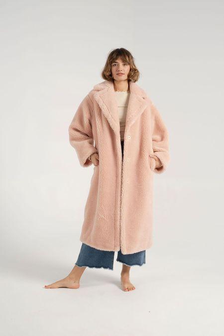 Stand Studio Maria Coat - Pale Blush