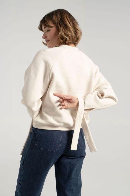 Rodebjer Zorina Sweater - Puffy White