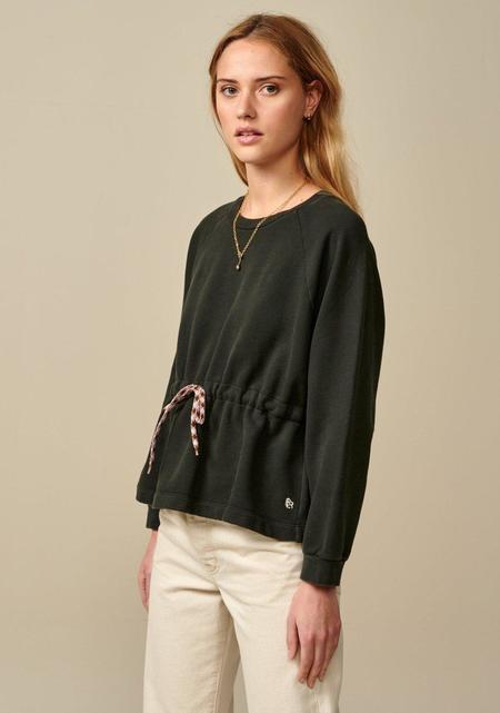 Bellerose Cinched Sweatshirt - Black