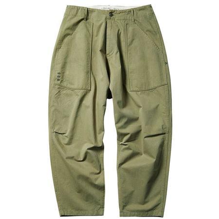 Liberaiders Herringbone Sarrouel Pants - Olive