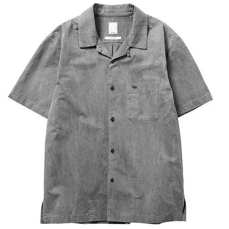 Liberaiders Overdyed Short Sleeve Shirt - Gray