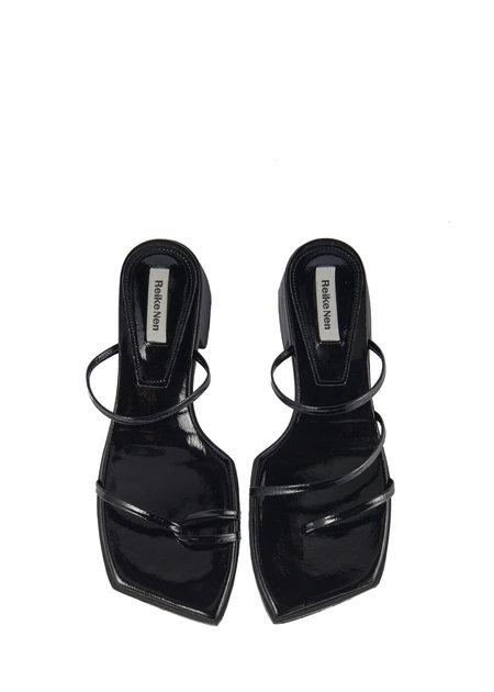 REIKE NEN Odd Pair Flat Sandals - Black