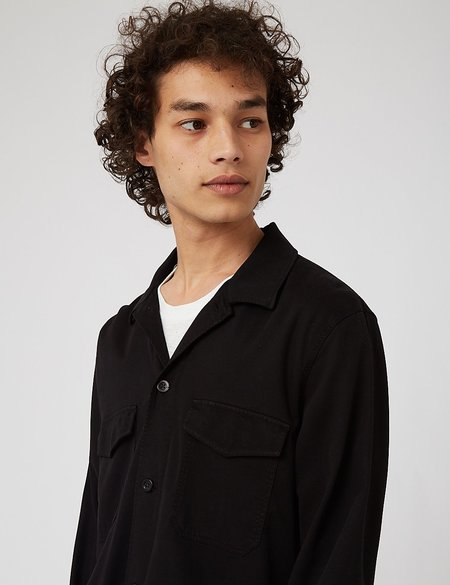 NN07 Bernard Overshirt - Black
