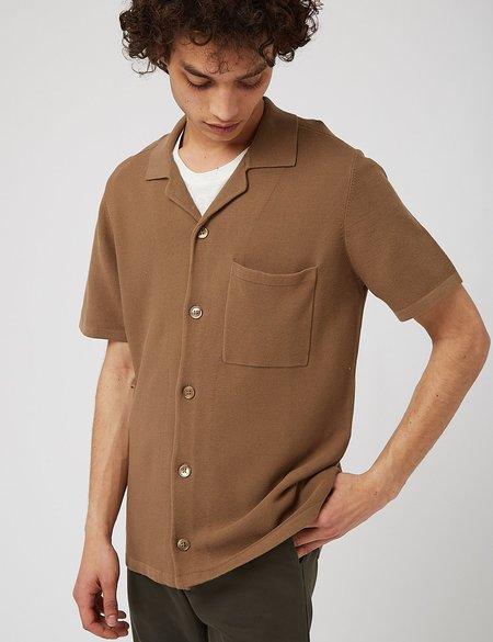NN07 Miyagi Short Sleeve Shirt - Kangaroo