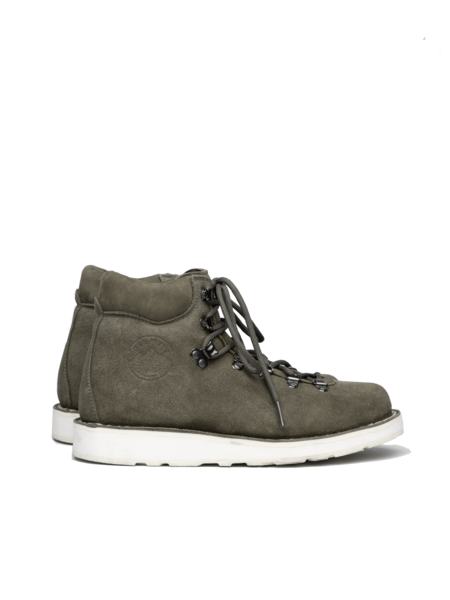 Diemme Roccia Vet Desert Oasis Shearling shoes - Olive