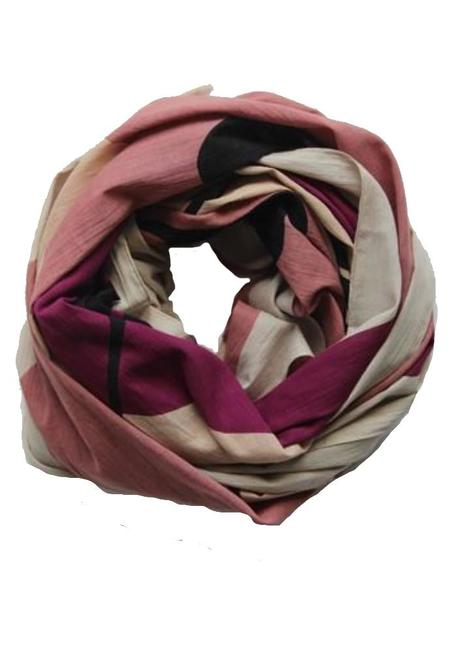 Les Belles Vagabondes Tropical Cotton Scarf - Rose