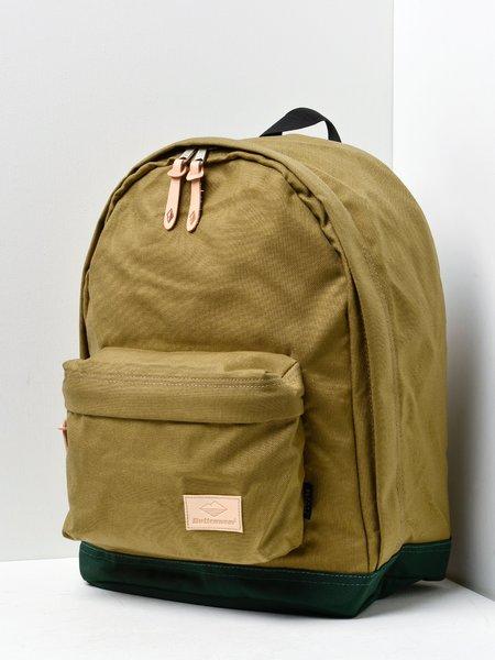 Battenwear BATTENPACK bag - KHAKI/FOREST GREEN