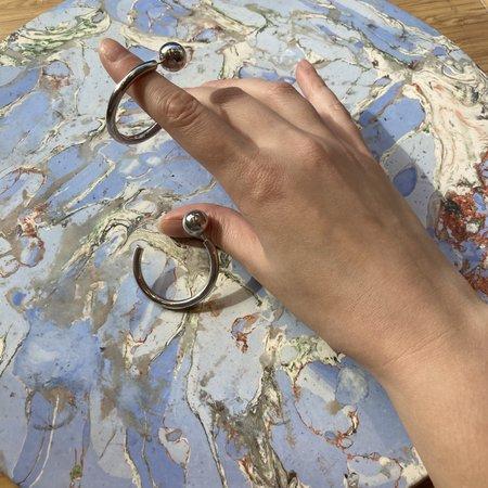 Maria Black Juno Earrings - Silver