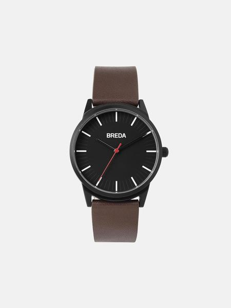 Breda Bresson Watch - Black/Brown