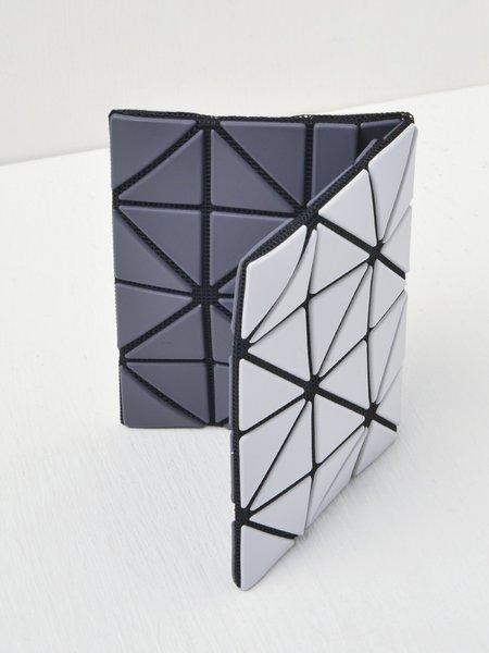 Bao Bao Issey Miyake Card Case - Light Gray/Gray