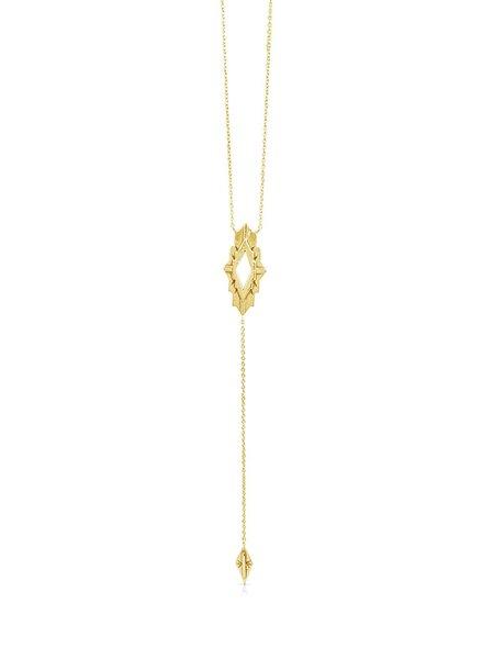 Sierra Winter Jewelry Astra Necklace - Gold Vermeil