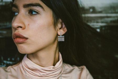 Sierra Winter Jewelry Felina Earrings - Sterling Silver