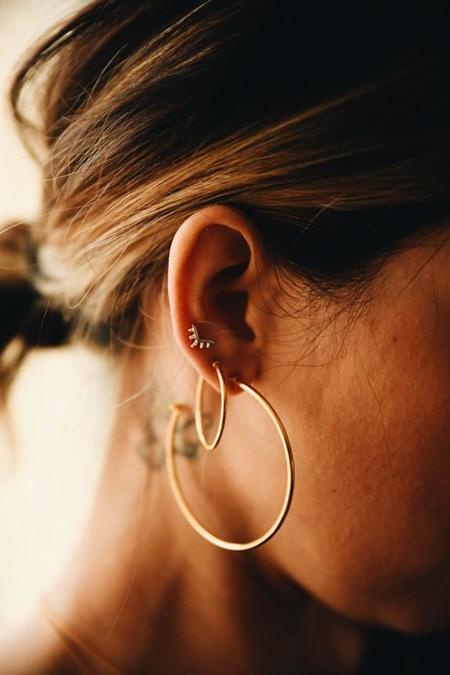 Sierra Winter Jewelry High Noon Hoop Earrings