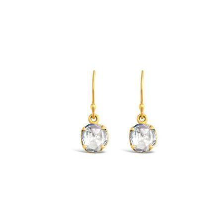 Sierra Winter Jewelry Primrose Diamond Earrings - 14K Yellow Gold
