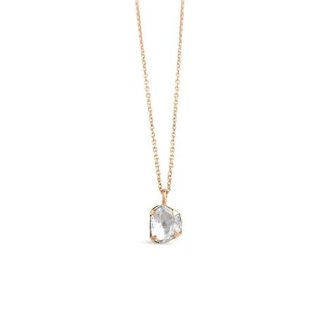 Sierra Winter Jewelry Primrose Diamond Necklace - 14K Rose Gold
