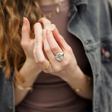 Sierra Winter Jewelry Revival Ring - Sterling Silver