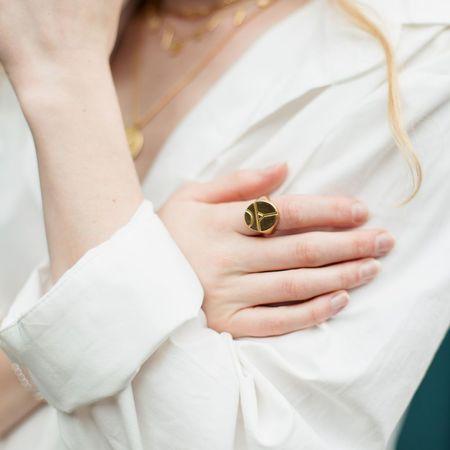 Sierra Winter Jewelry Revival Ring - Gold Vermeil