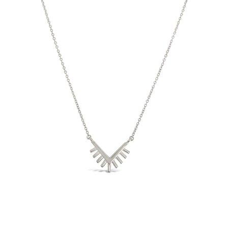 Sierra Winter Jewelry Sunrise Necklace - Sterling Silver