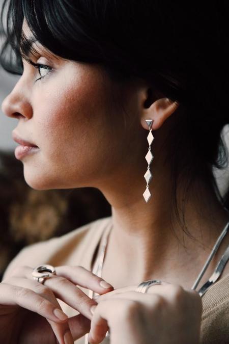 Sierra Winter Jewelry Tallgrass Earrings - Sterling Silver