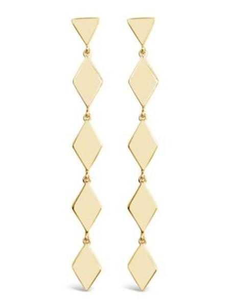 Sierra Winter Jewelry Tallgrass Earrings - Gold Vermeil