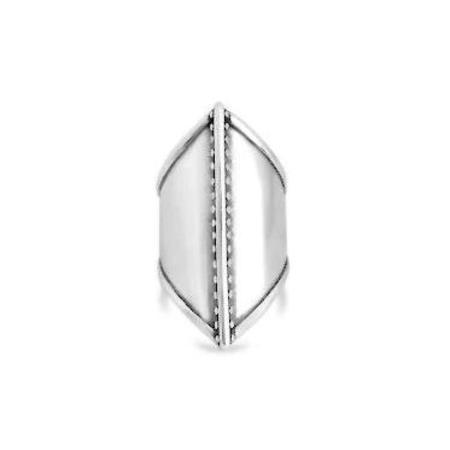 Sierra Winter Jewelry Warrior Ring - Sterling Silver