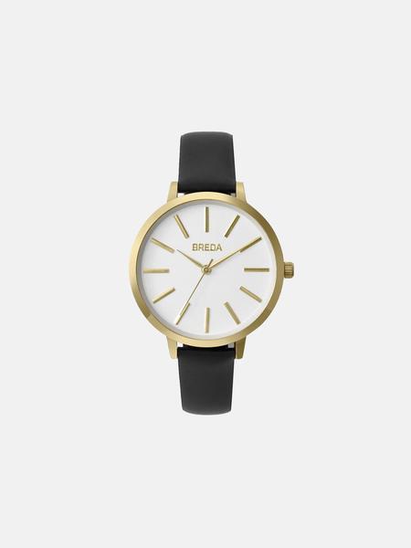 Breda Joule watch - black