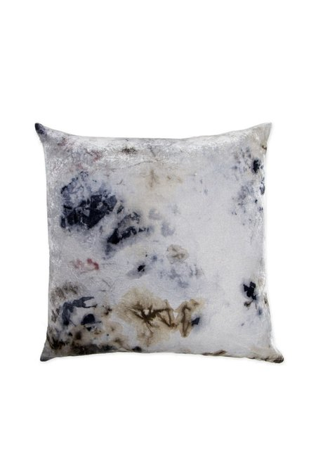 KES Sustainable Silk/Linen Kapok Pillow - Organic Logwood