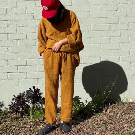 APRIL MEETS OCTOBER August Pants - Mustard