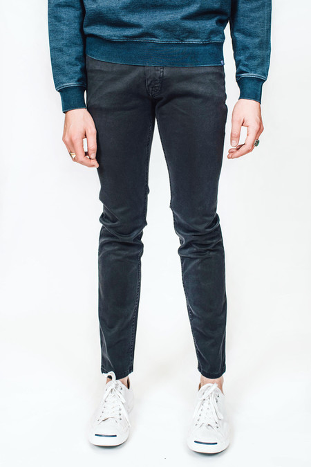 Velour by Nostalgi Julian Flex Twill 5 Pocket Grey