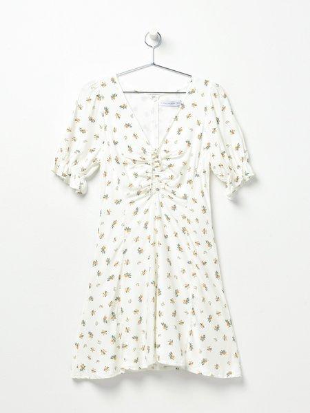 Faithfull The Brand Palma Mini Dress - Carrie Floral Print