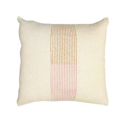 Block Shop Textiles Pillow Case - Banded Stripe