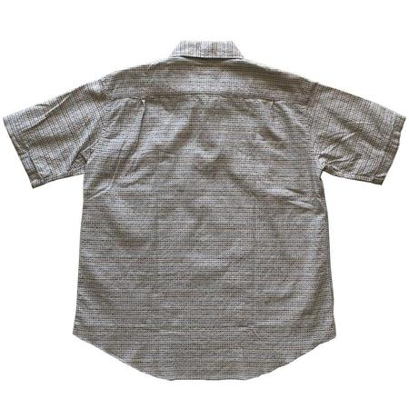 Nigel Cabourn Short Sleeve Poh Shirt - White/Multicolor