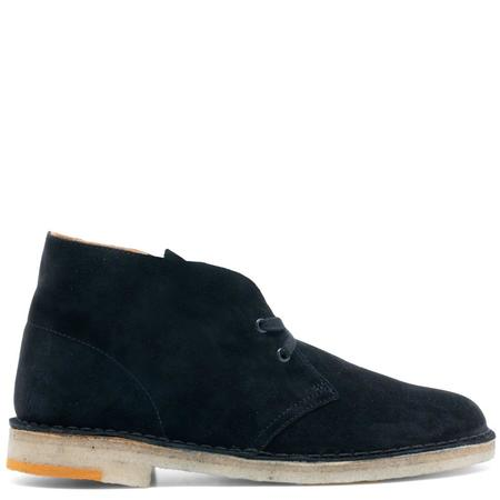 Clarks Originals Desert Boot - Black Combi Suede