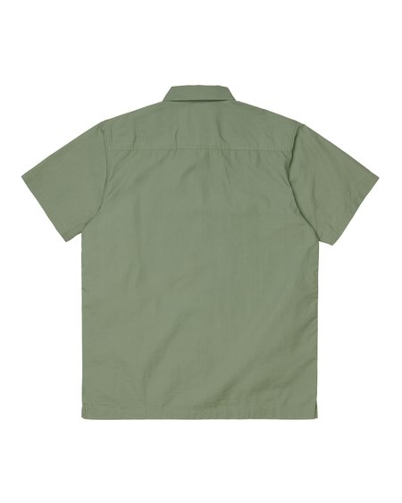 CARHARTT WIP Camisa LS Creek - Dollar Green