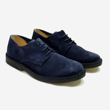 Coastflex Suede Derby Shoes - Navy