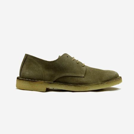 Astorflex Coastflex Suede Derby Shoes - Stone
