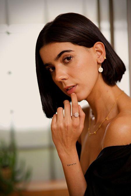 The CANO Shoe Maia Earrings - Silver