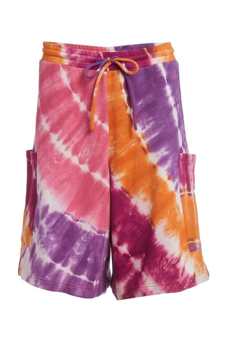 abacaxi Bball Shorts - Tie-Dye
