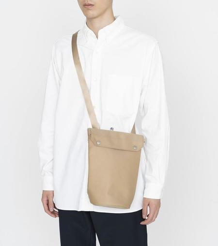 Nanamica Water repellent Shoulder Bag - Navy