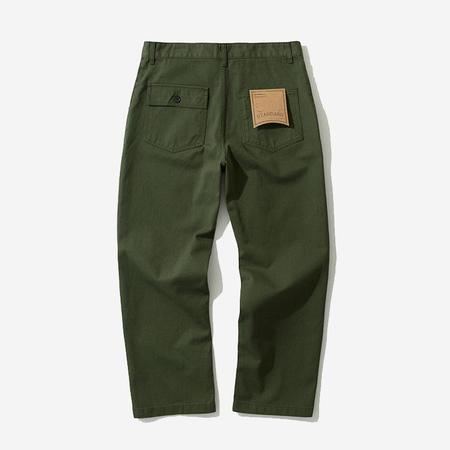 Uniform Bridge Cotton Fatigue Pants - Forest Green