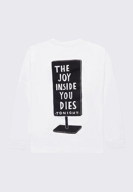 BY PARRA Joy Inside Long Sleeve - White