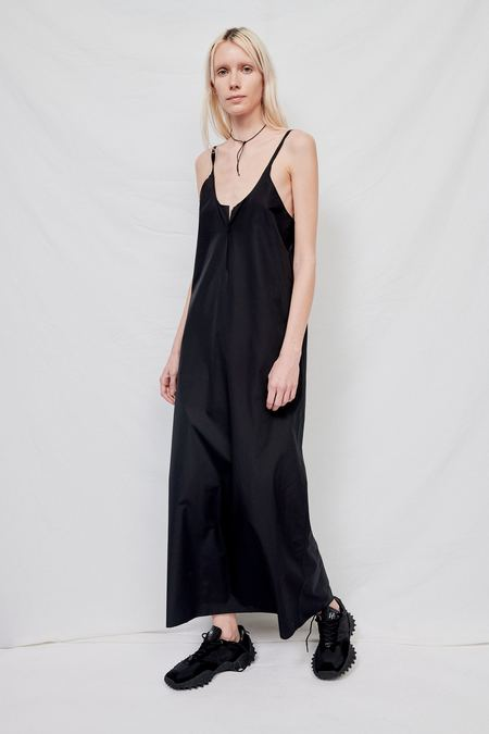 Gabriela Coll No.47 Ripped Poplin Slip Dress