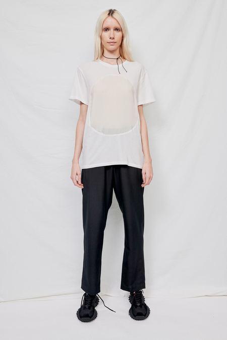 Correll Correll Velvet Circle T-shirt - White