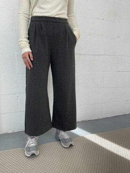 Odeyalo PALCO wide leg pant - charcoal