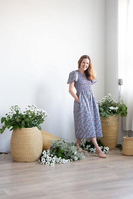 Devon's Drawer organic cotton Crocus Dress - Floral