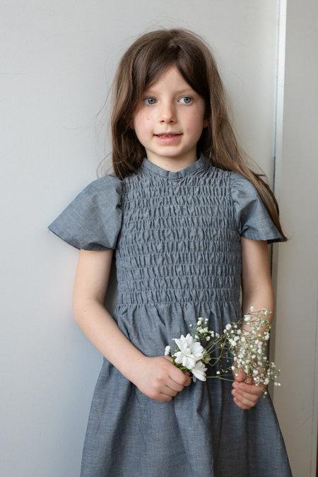 Kids Devon's Drawer Crocus Dress - Chambray