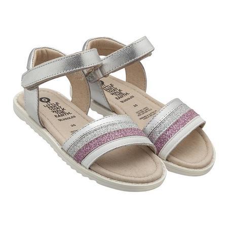 Kids Old Soles Colour Pot Sandals - Silver
